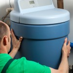 water softener installation by Canadian Water Conditioning