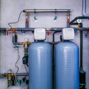 Blue Water Softeners Tanks for Canadian Water Conditioning